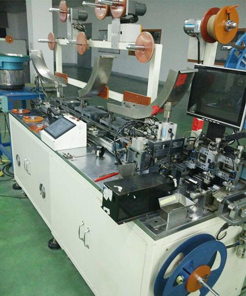 排线连接器  LVDS自动机